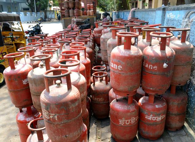 GST effect; cooking LPG cylinder becomes expensive