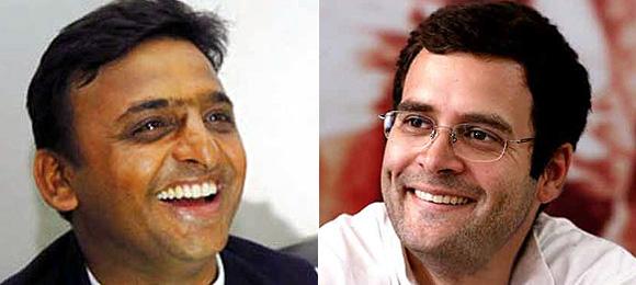 राहुल की उम्मीदवारी पर अखिलेश ने कहा कि यह गठबंधन की राय नहीं