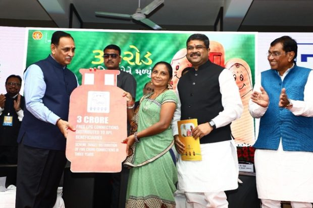 Pradhan to host first LPG Panchayat in Gandhinagar