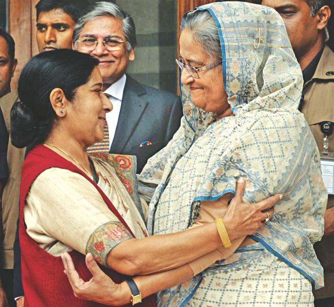 Sushma Swaraj in NY to attend UNGA session