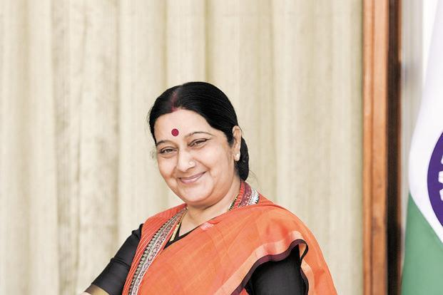 Sushma Swaraj push to 'Act East', meets ASEAN secy general