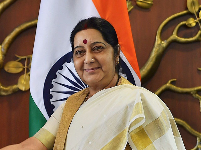 Sushma Swaraj to conduct diplomatic visit to Nepal on Thursday