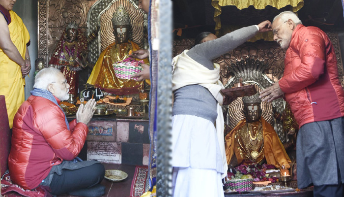 PM Modi offers special prayer at Muktinath temple in Nepal